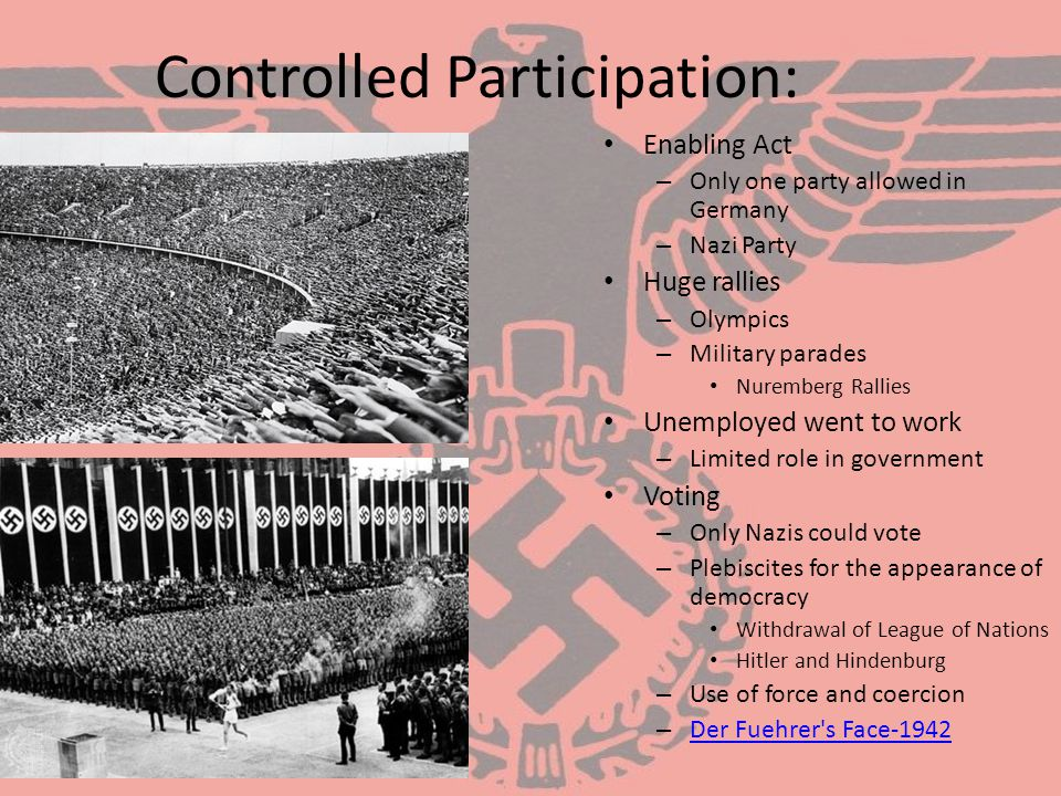 Controlled Participation: