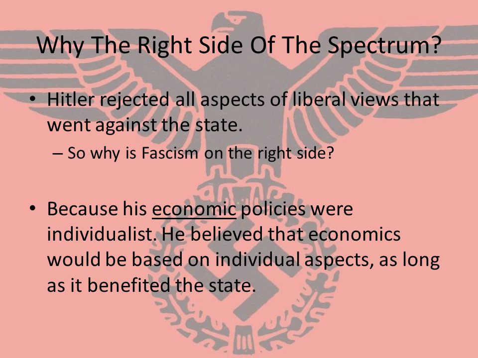 Why The Right Side Of The Spectrum