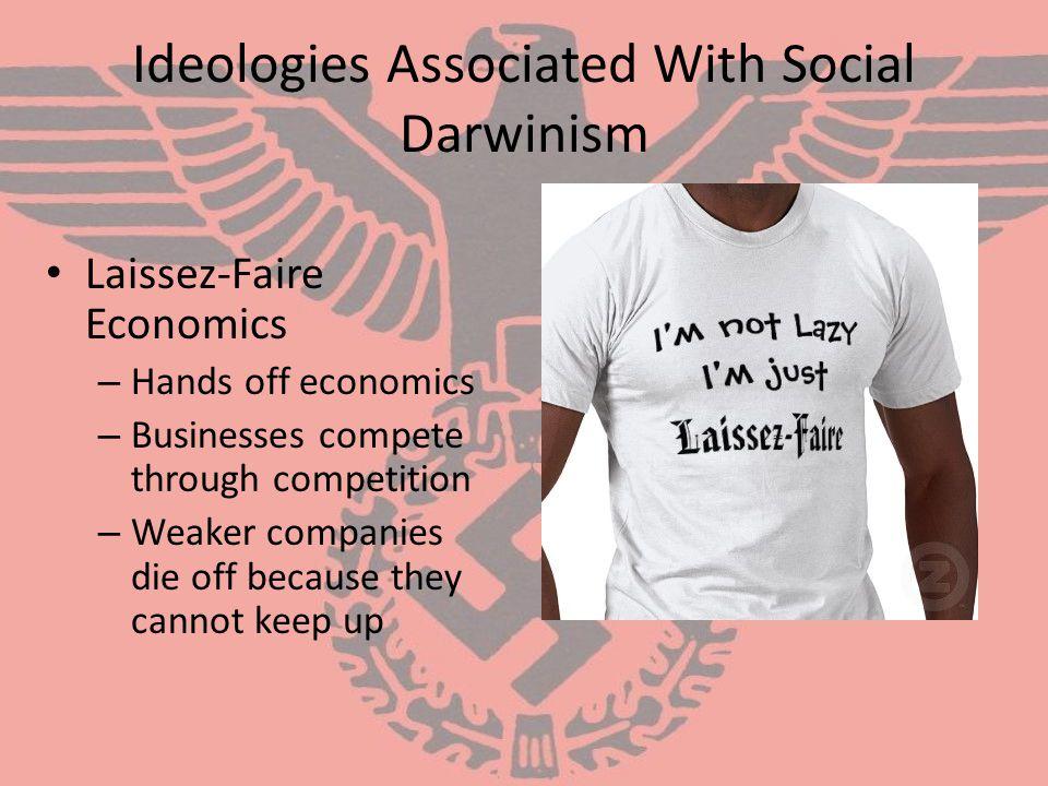 Ideologies Associated With Social Darwinism
