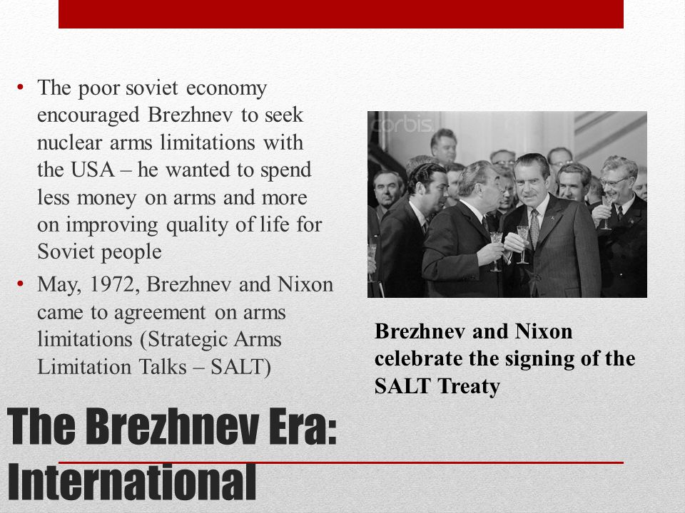 The Brezhnev Era: International