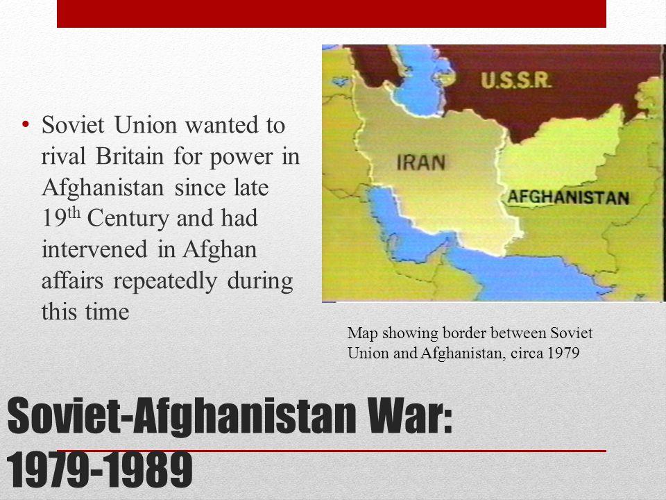 Soviet-Afghanistan War: 1979-1989