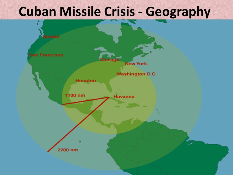 Cuban Missile Crisis - Geography