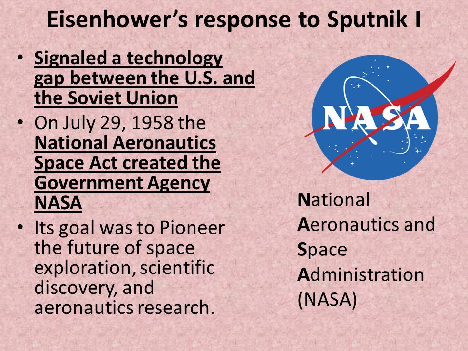 Eisenhower's response to Sputnik I