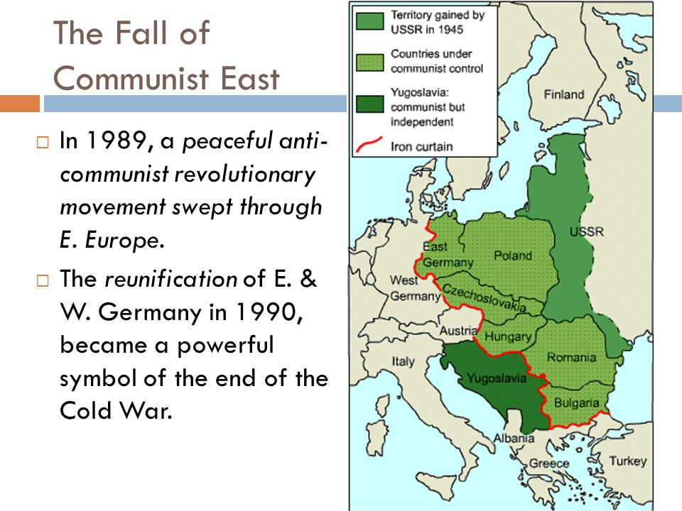 a look at the problems caused by the collapse of communism in eastern europe and the soviet union Unformatted text preview: events that led the collapse of communism in the soviet union and eastern europewhat were the inherent problems of the communism for the soviet union and its allies.
