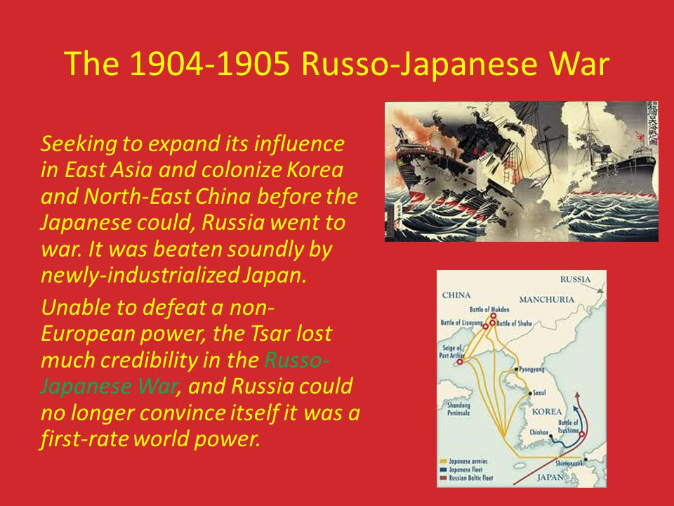 The 1904-1905 Russo-Japanese War