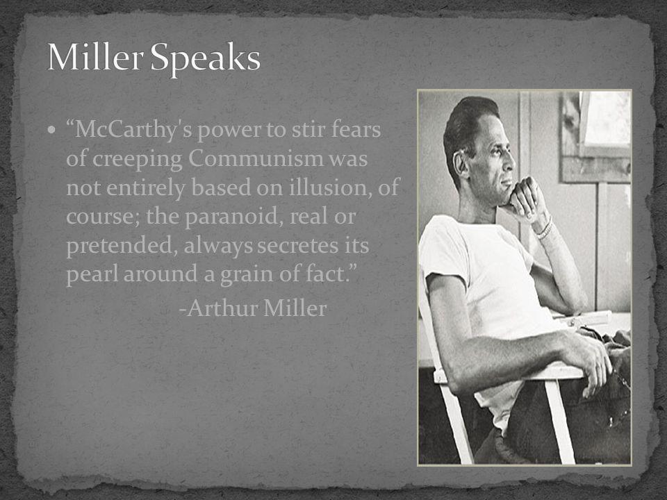 Miller Speaks