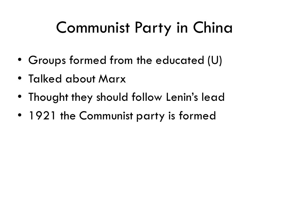 Communist Party in China