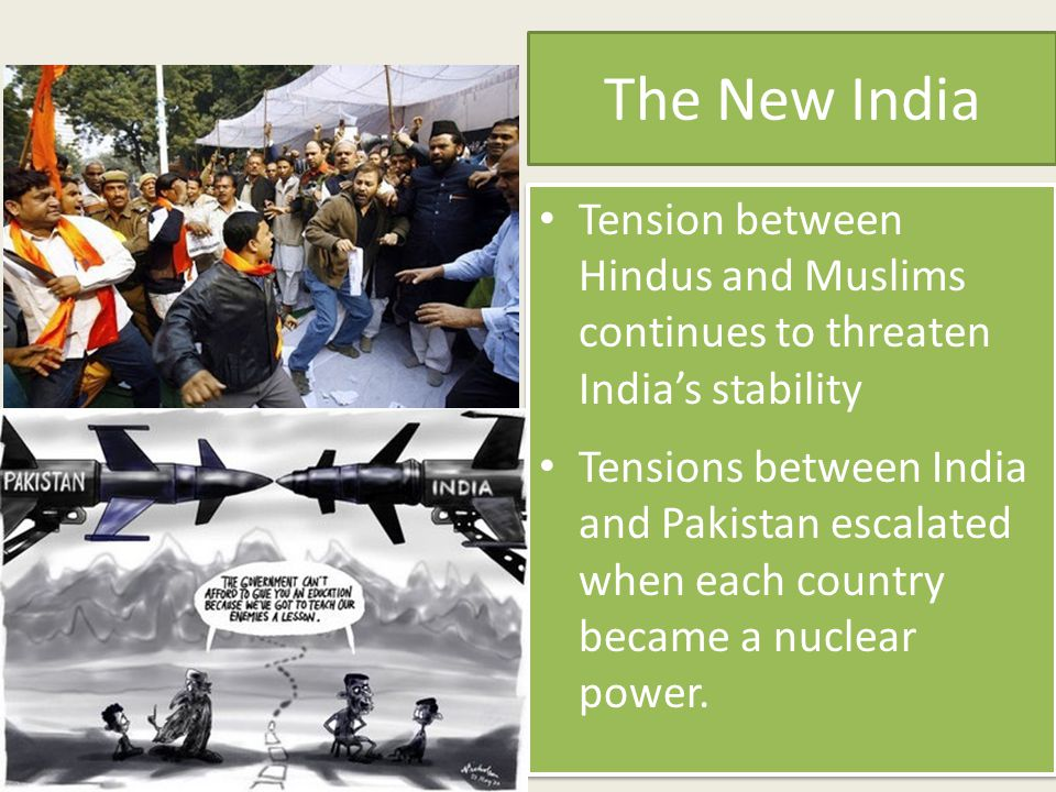 The New India Tension between Hindus and Muslims continues to threaten India's stability.
