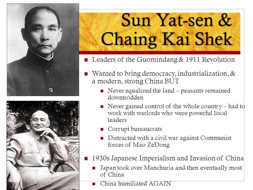 Sun Yat-sen & Chaing Kai Shek