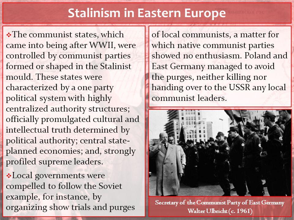 Stalinism in Eastern Europe