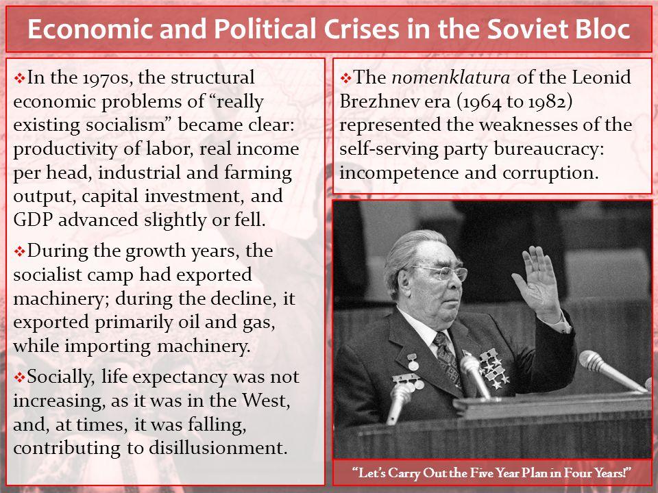 Economic and Political Crises in the Soviet Bloc