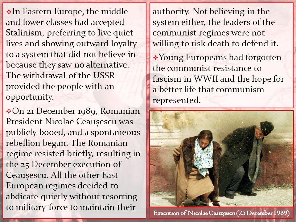 Execution of Nicolae Ceaușescu (25 December 1989)