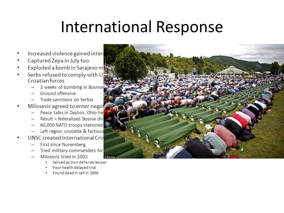 International Response