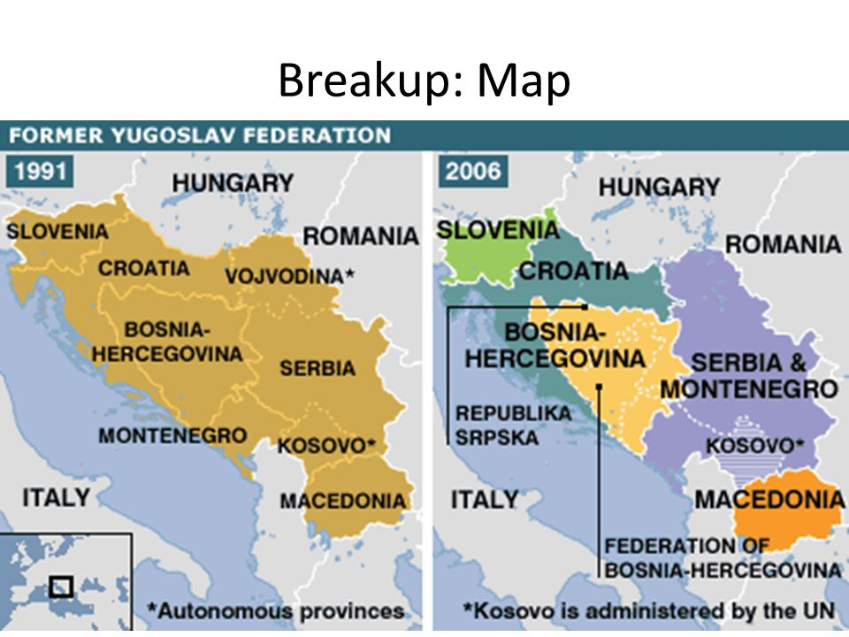 Breakup: Map