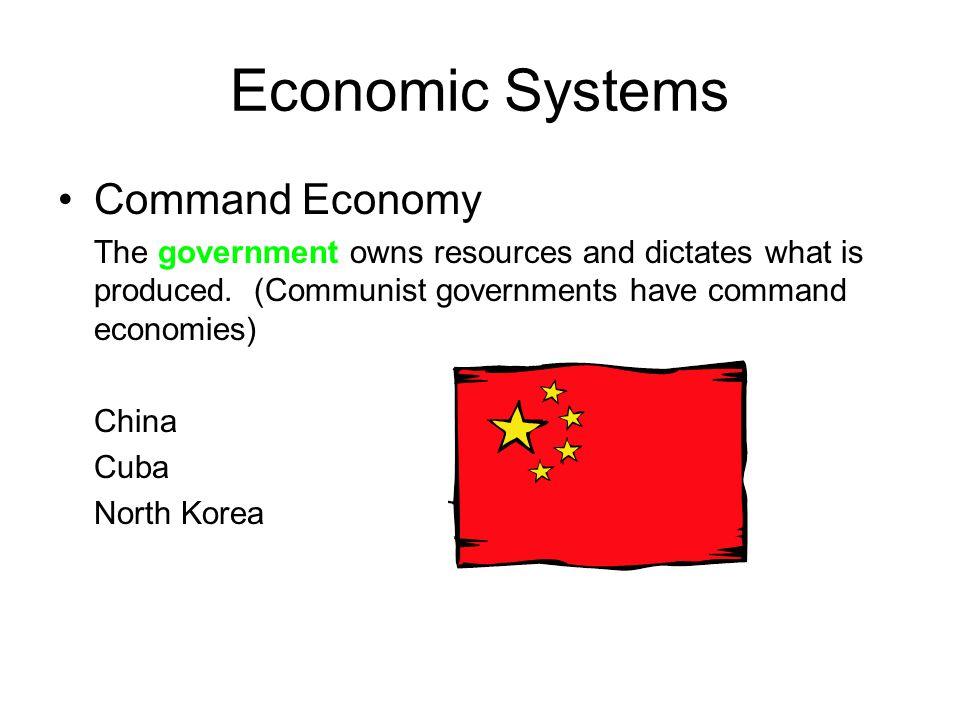 Economic Systems Command Economy