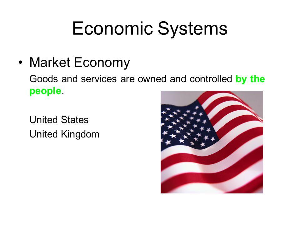 Economic Systems Market Economy