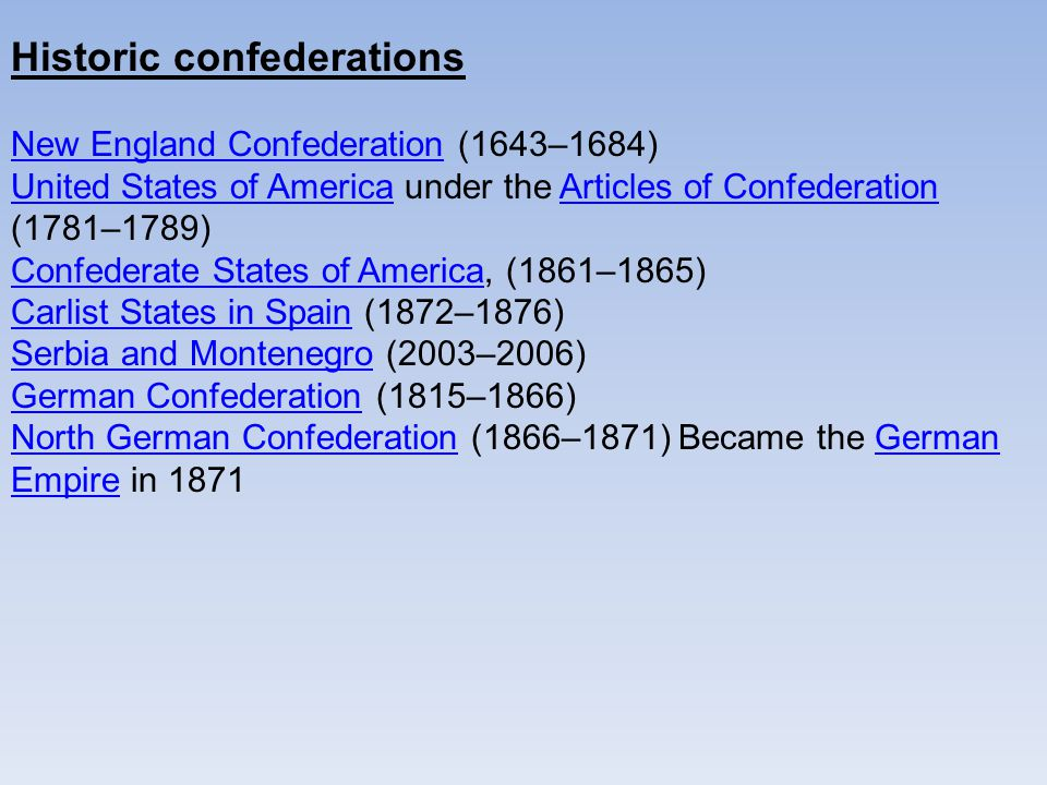 under all the content for confederation the usa declares ended up being a good unitary system
