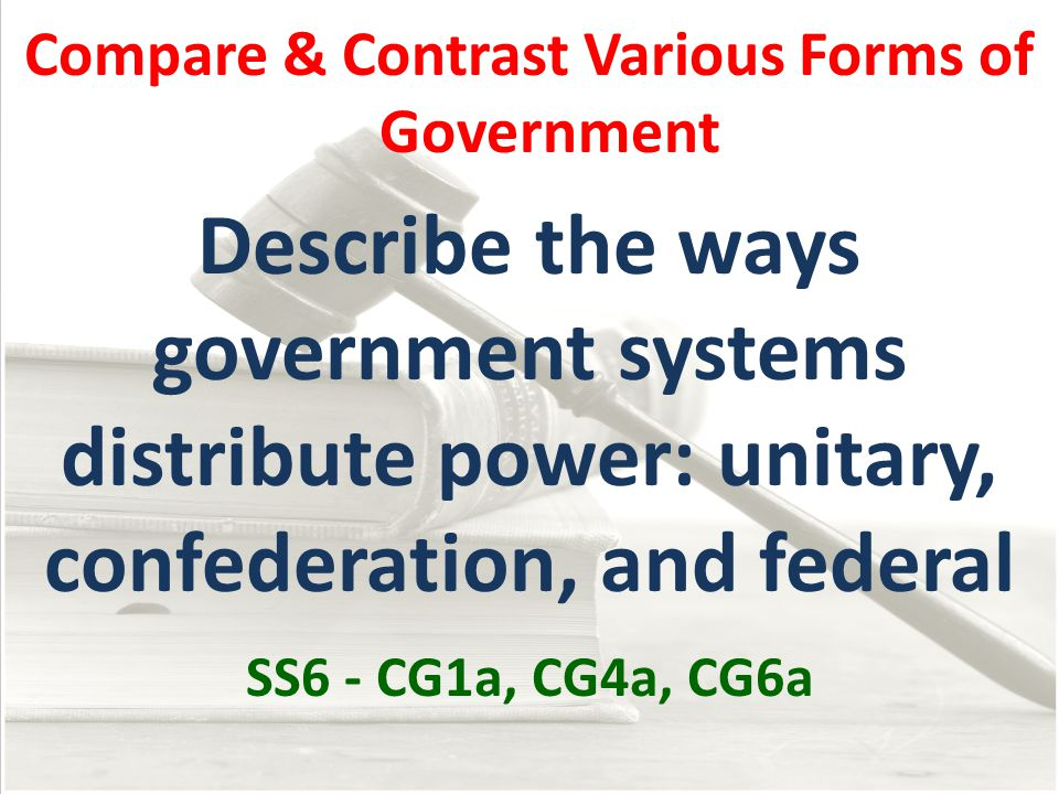 compare and contrast federal and state The differences between federal, state, and local laws authored by: legal aid society of northeastern new york read this in: spanish / espa ol.