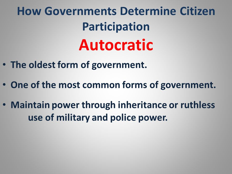 the future of participatory government in the united states What is the national debt the term national debt refers to direct liabilities of the united states government there are several different concepts of debt that are at various times used to refer to the national debt.