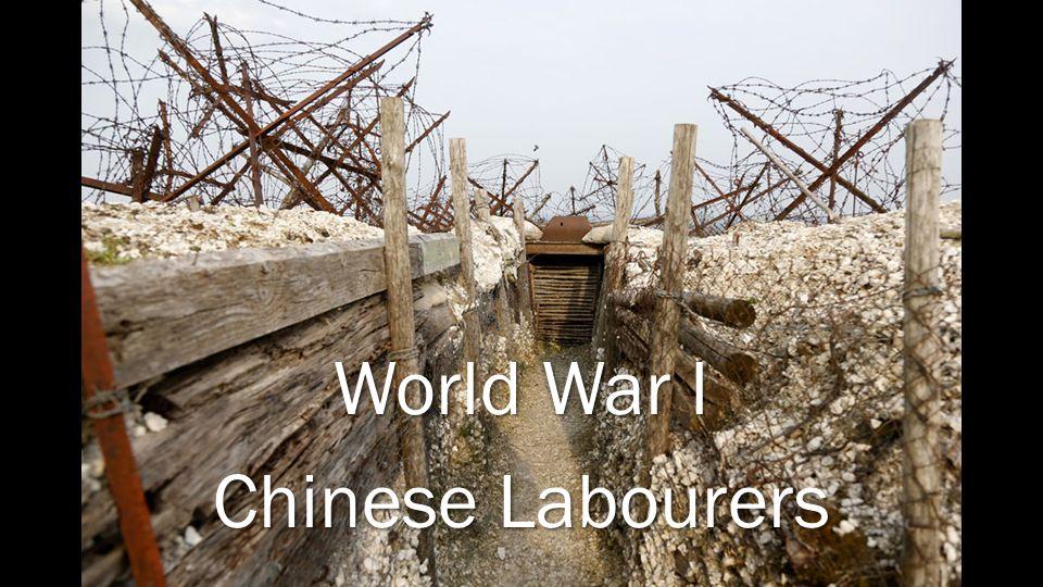 World War I Chinese Labourers