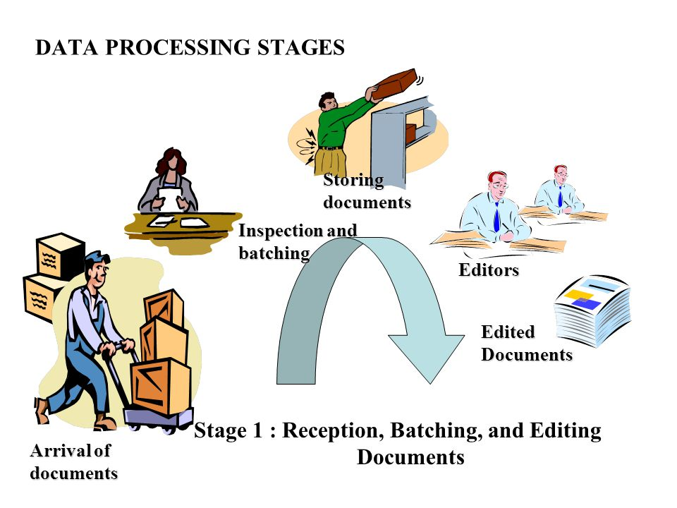 DATA PROCESSING STAGES