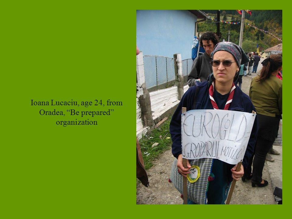 Ioana Lucaciu, age 24, from Oradea, Be prepared organization