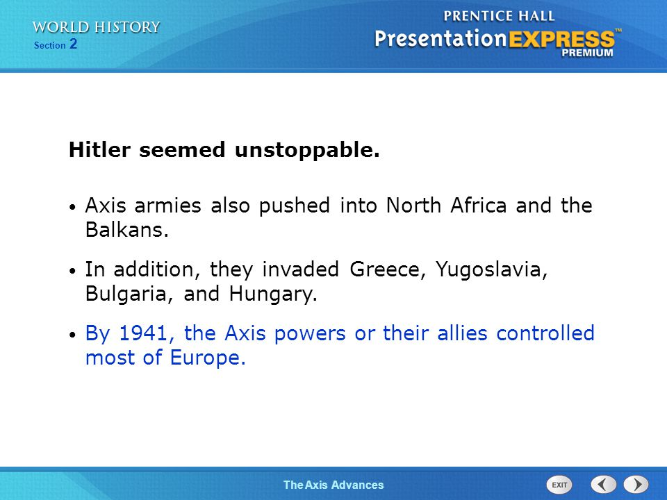 Hitler seemed unstoppable.