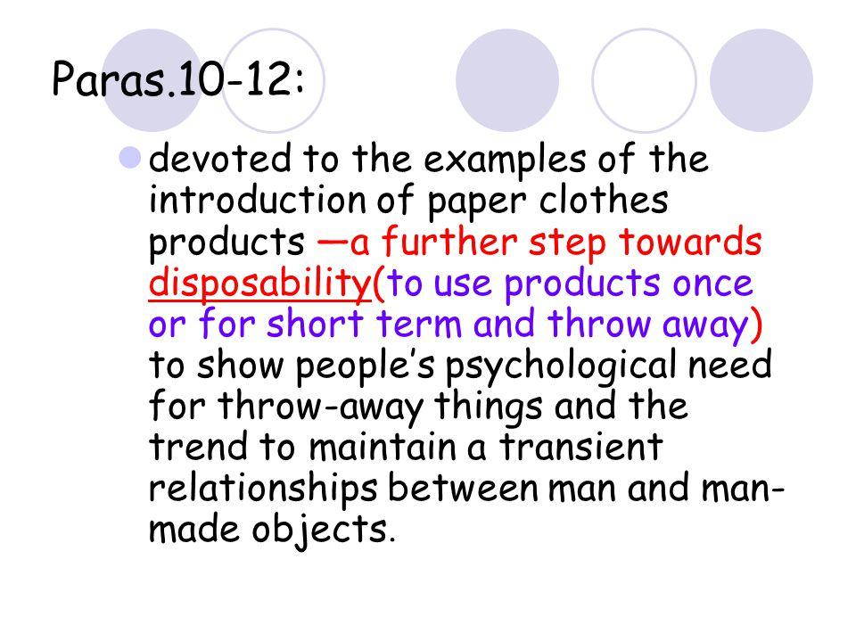 Paras.10-12: