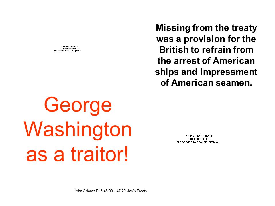 George Washington as a traitor!