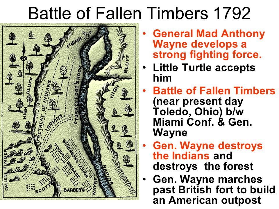 Battle of Fallen Timbers 1792