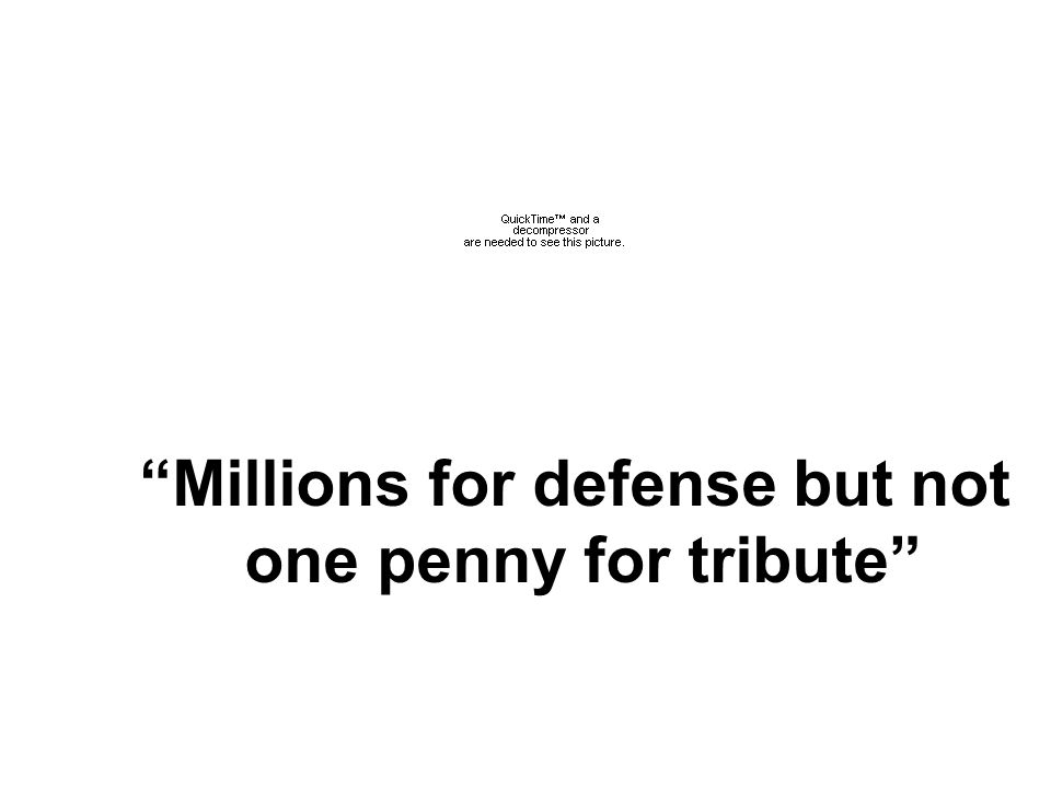 Millions for defense but not