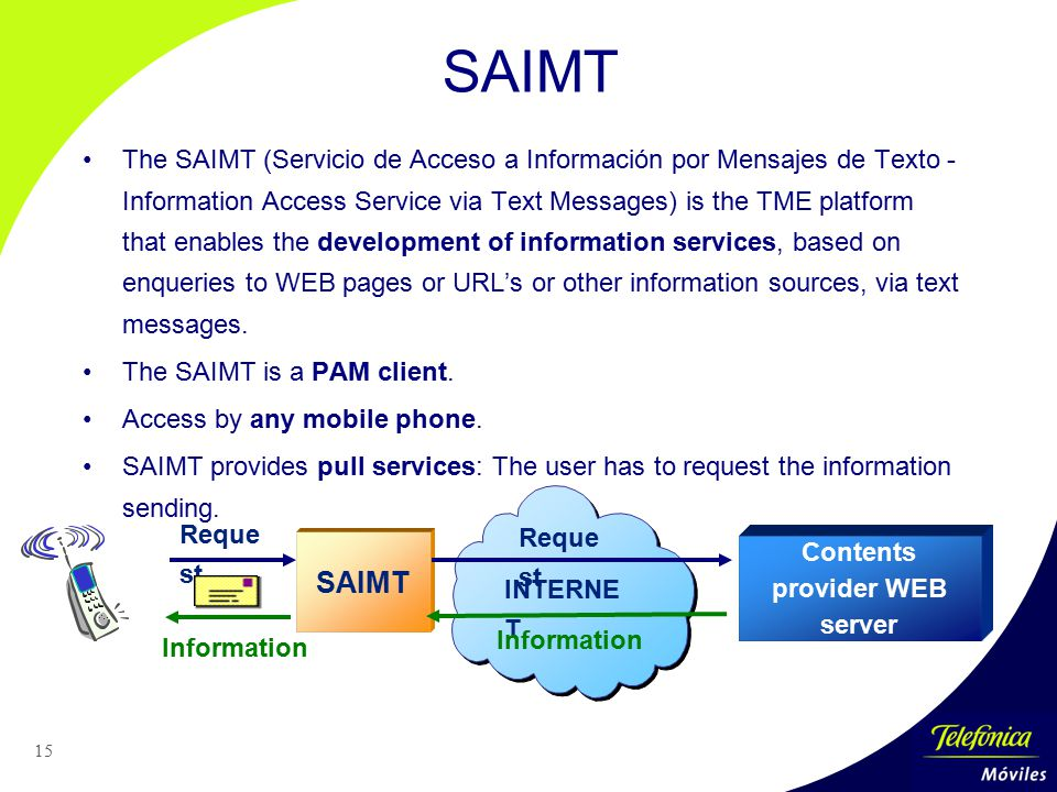 Contents provider WEB server
