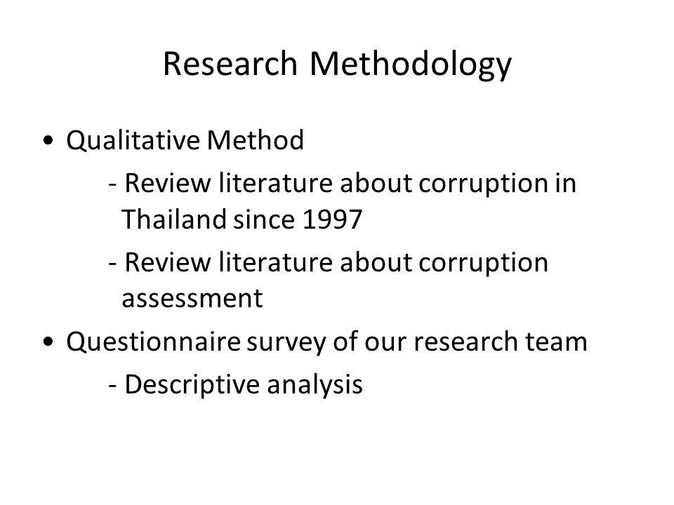 Research Methodology Qualitative Method