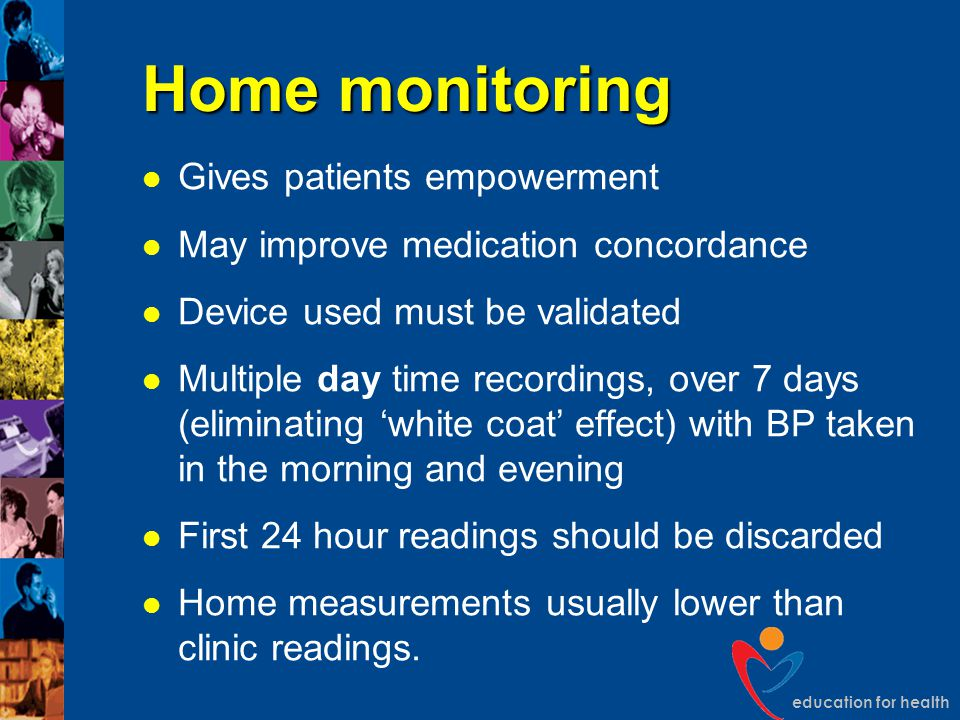 Home monitoring Gives patients empowerment