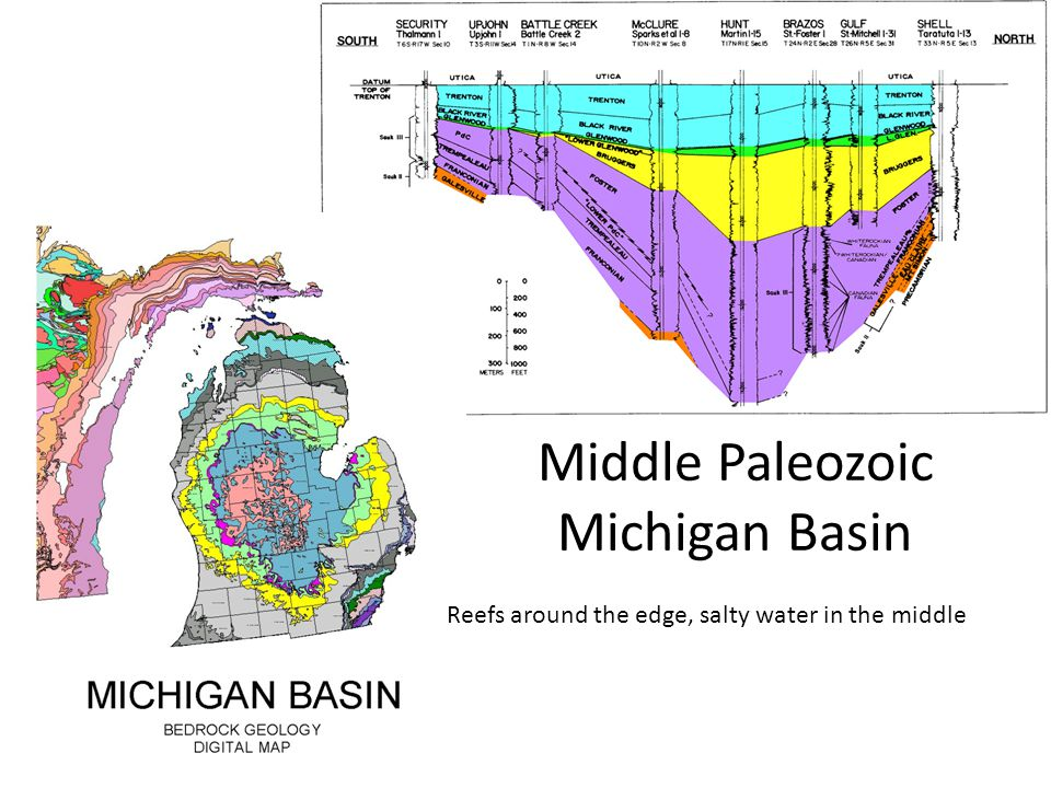 Middle Paleozoic Michigan Basin