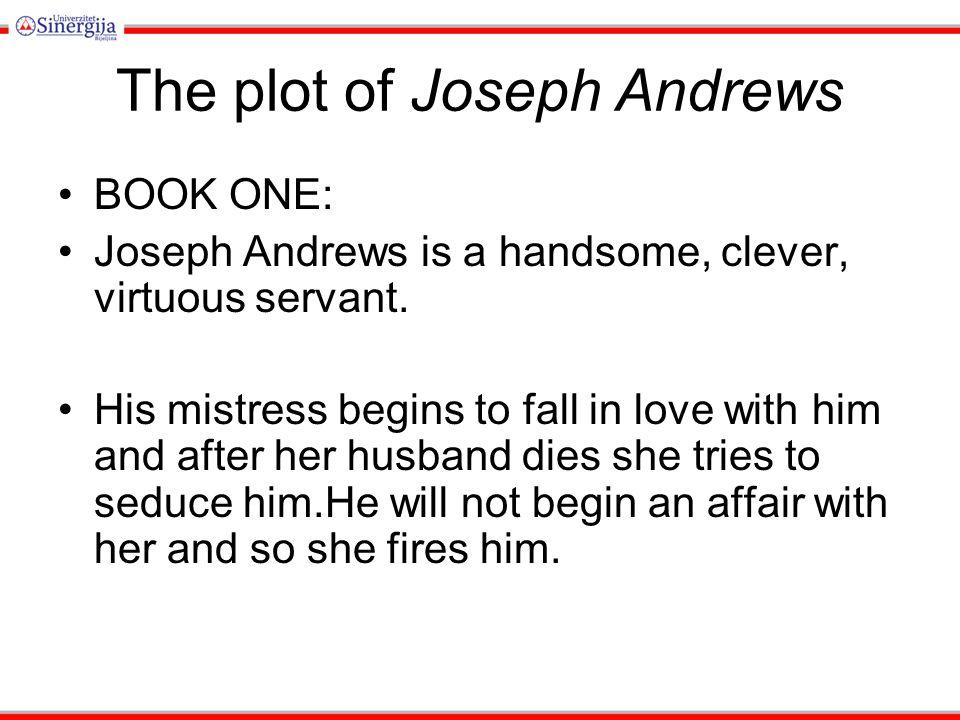 The plot of Joseph Andrews