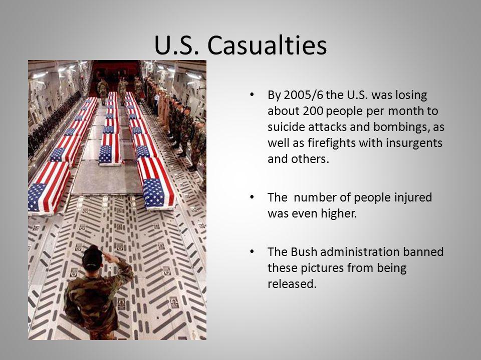 U.S. Casualties