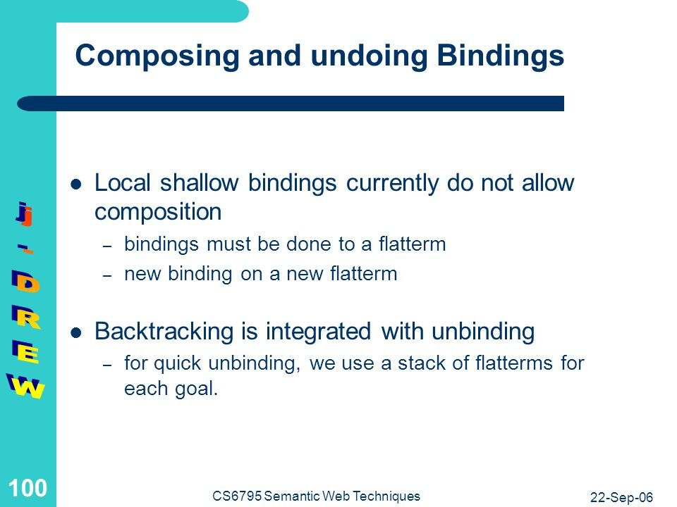 Evaluation of local shallow bindings