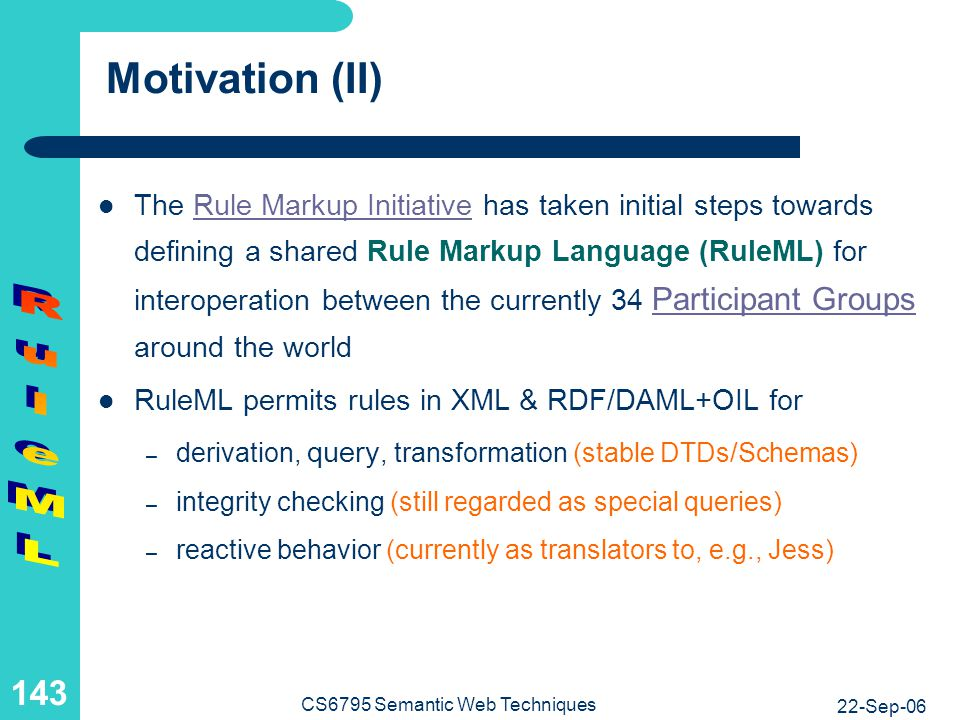 Semantic Web and Web Services Use Databases and Rule Systems