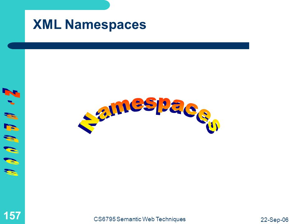 XML Namespaces and Programming-Language Modules