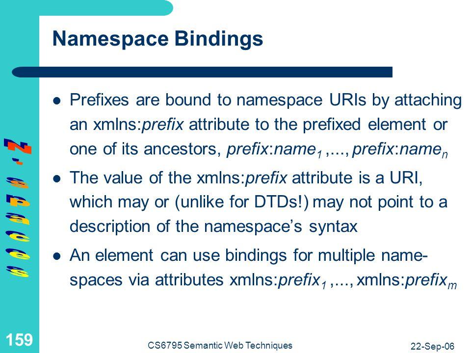 Namespaceless Example: Address Variant