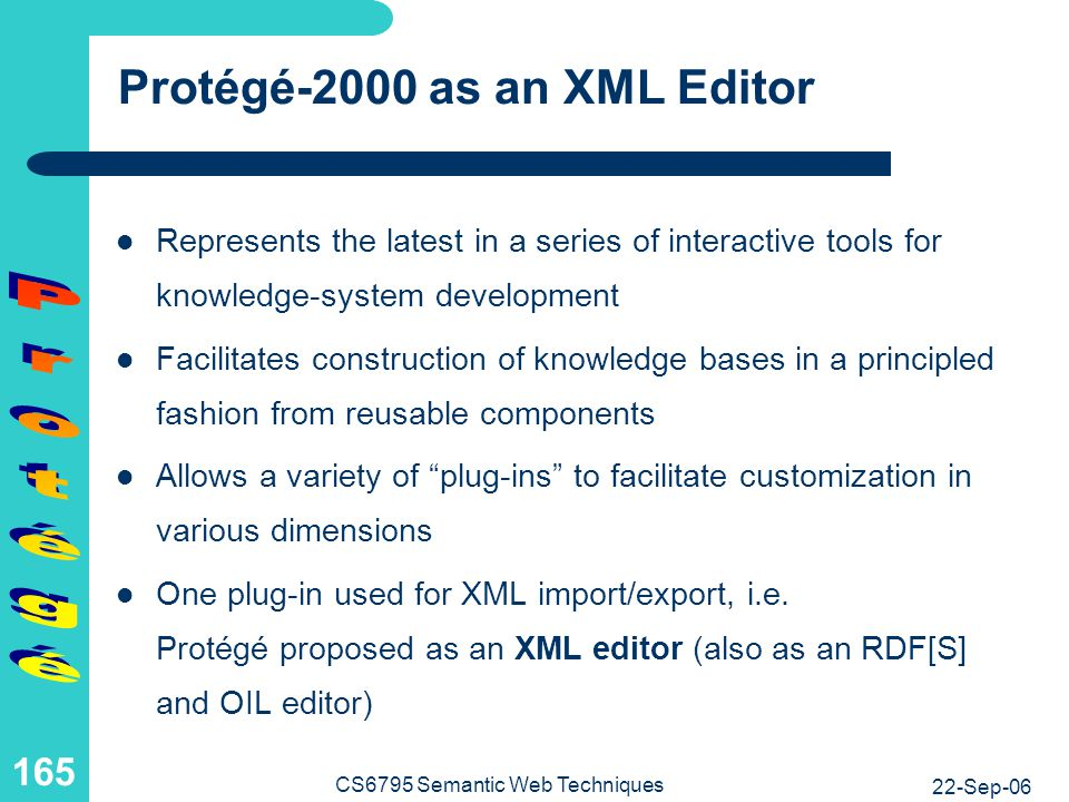 Knowledge-Base Development with Protégé-2000