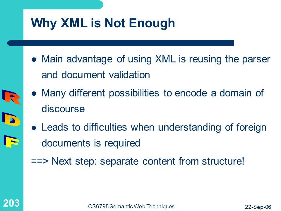Encoding of Knowledge: Example