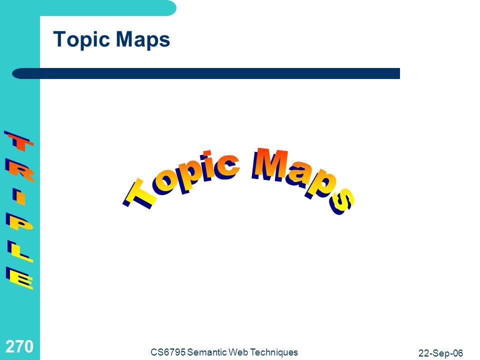 CS6795 Semantic Web Techniques