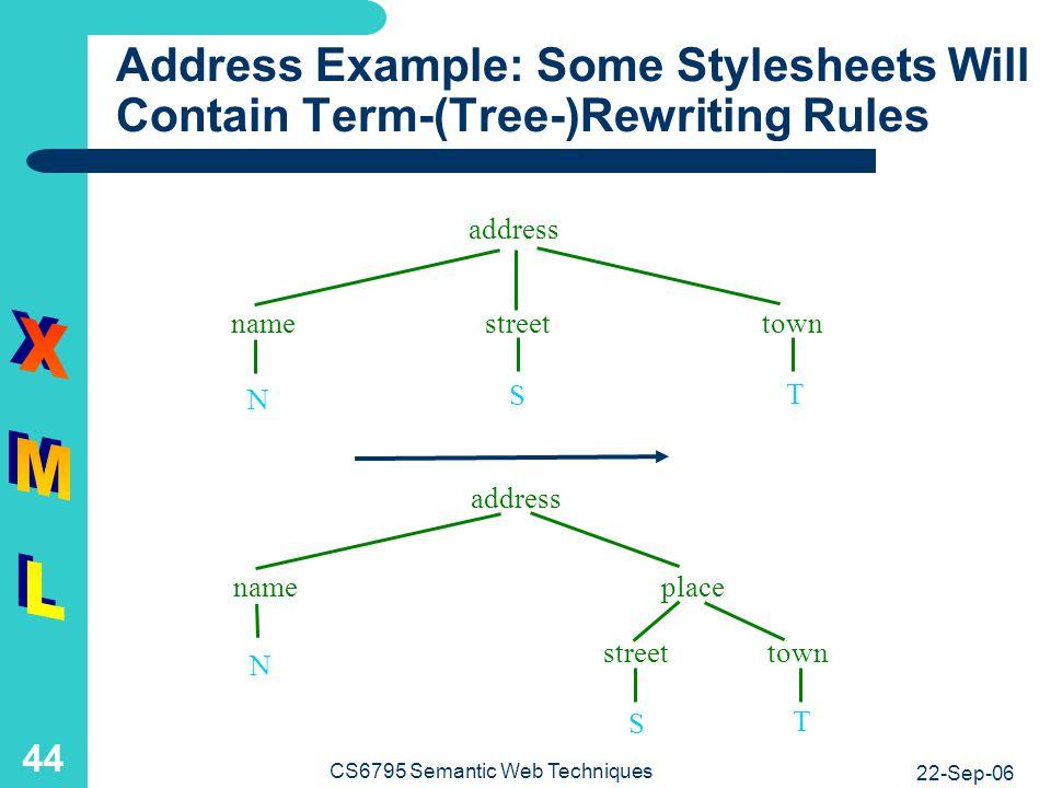 Address Example: XML Queries