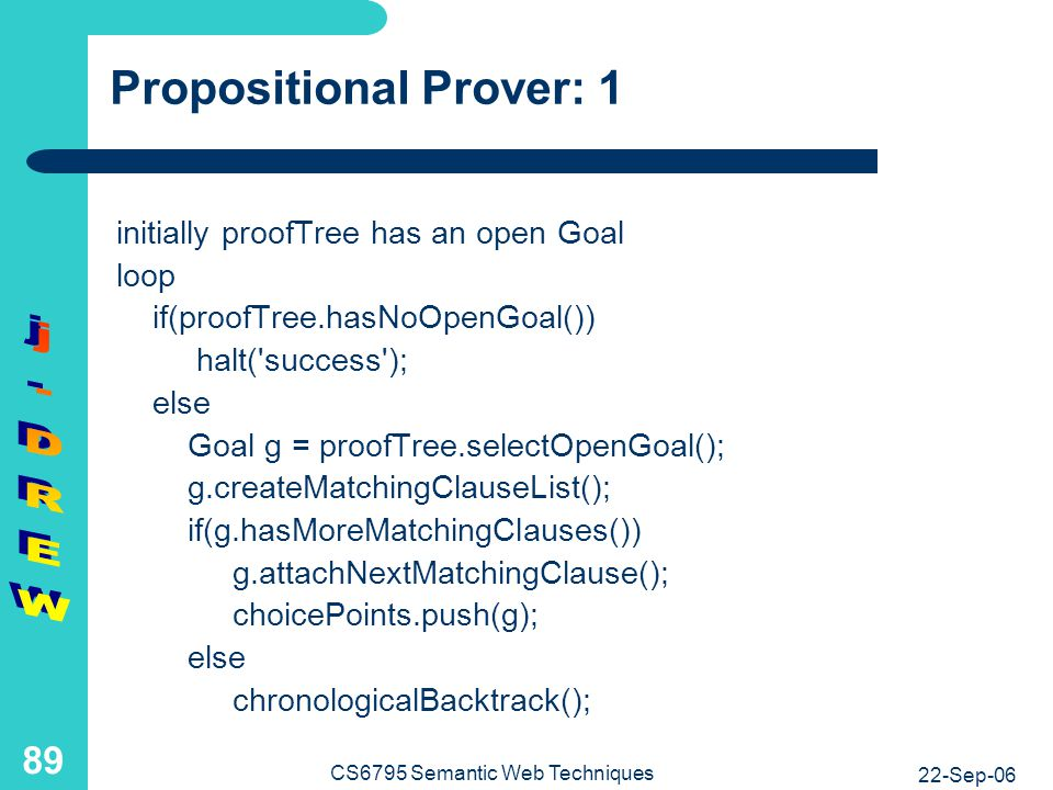 Propositional Prover: 2