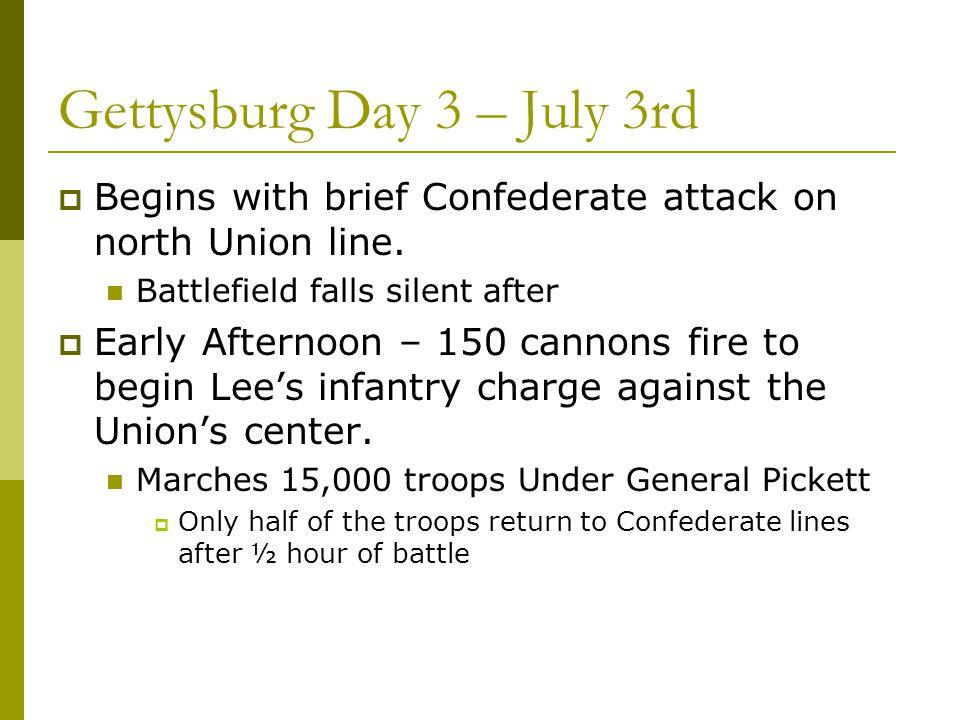 Gettysburg Day 3 – July 3rd