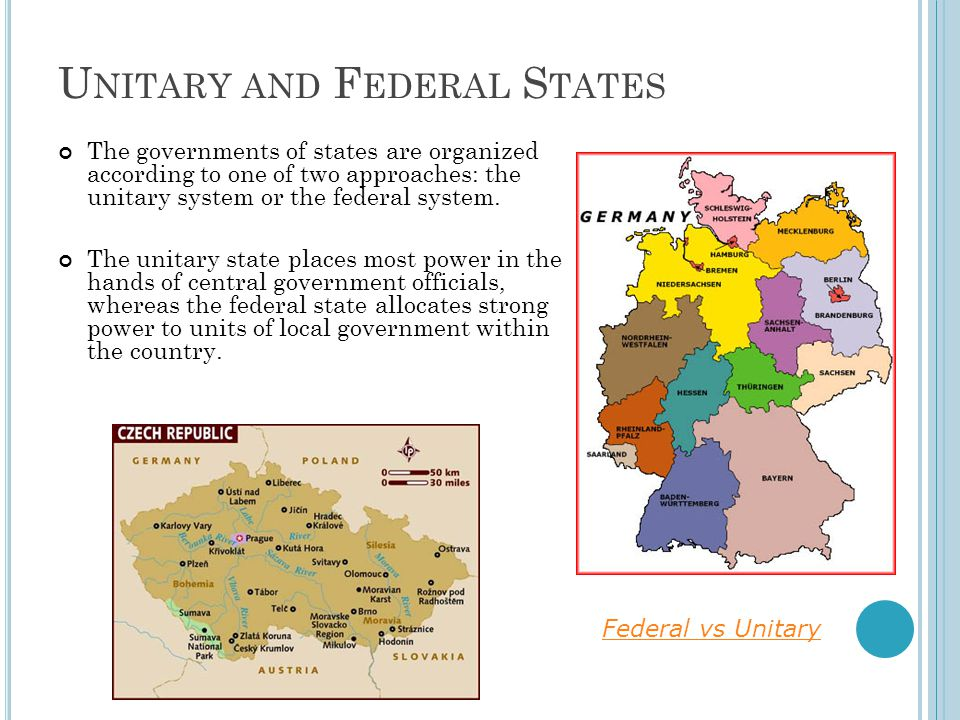 unitary and federal systems essay Federal and unitary systems of government have many similar qualities therefore it becomes difficult to decipher between the two in order to illustrate the difficulty in trying to distinguish between the two, i will first define what each system of government involves and then attempt to compare and contrast.