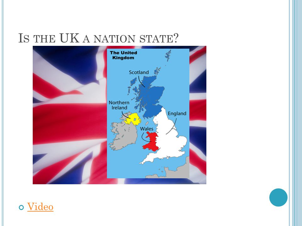 Is the UK a nation state Video