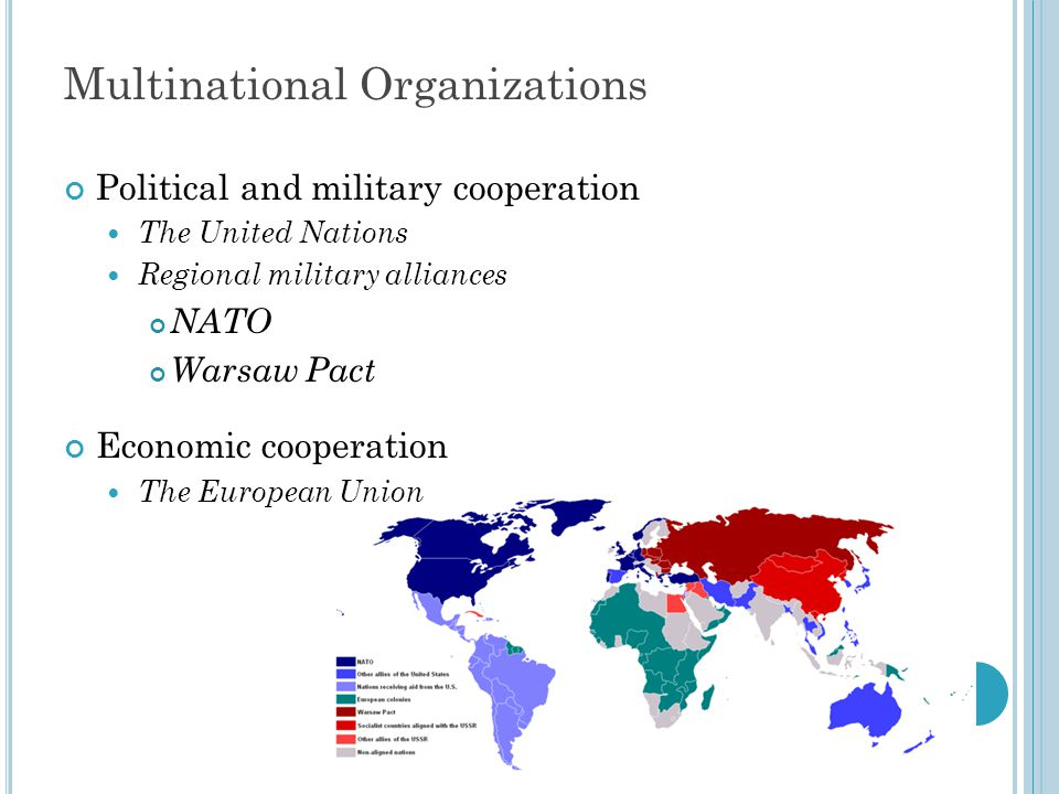 Multinational Organizations